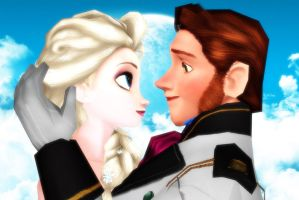 Elsa and Hans by Simmeh