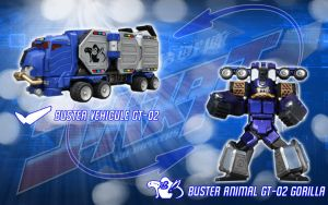 Buster Vehicule GT-02 Gorilla by blakehunter