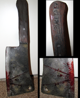 Meat Cleaver Prop by PlaceboFX