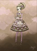 Vintage Flower - Pink Version by DeadPeppermint