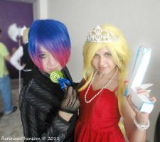 Panty and Stocking xDDD by RoronoaxPhantom