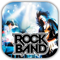 Rock Band Game Icon by Wolfangraul