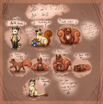 PN: BA-40 Vulpixes (SOLD) by Bulbiekins