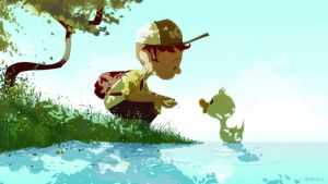 What do Ducks eat? and Wondercon by PascalCampion