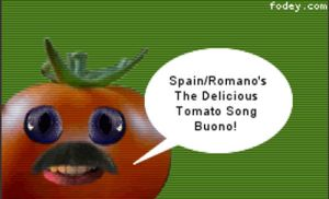 Spain and Romano's: The Delicious Tomato Song by ancientanger