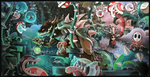 Bowsers Garden by bezzalair