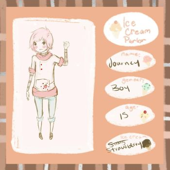Ice Cream Parlor: Strawberry by HomicidalBagBoy