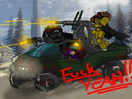 All Your Halo Are Belong To Us by VangarShriek