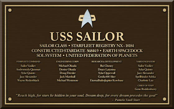 USS Sailor by LordTrekie