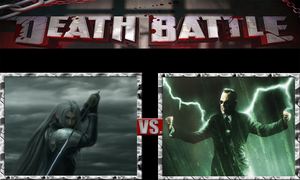 Sephiroth vs. Agent Smith by JasonPictures