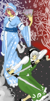 TOUHOU -- Ghosts by static-mcawesome