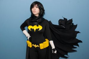 Cassandra Cain/Black Bat Preview by surfingthevoiid
