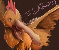 Fearow by takugirl