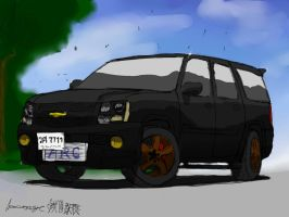Chevy Tahoe by ngarage
