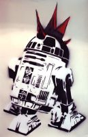 R2D2 Stencil by HighestScoringLoser