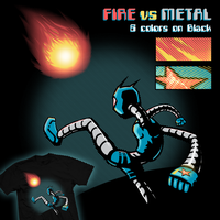 FIRE vs METAL - on Woot by MdMbunny