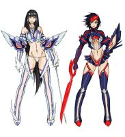 Kill la Kill by Agacross