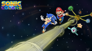 Mario and Sonic Colors! by kjshadows131