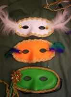 Romeo and Juliet Masks V by Fruits-Punch-Samurai