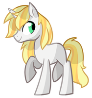 Ponysona OC For Friend by Kajitanii
