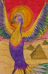 The Sunbird of Heliopolis by Cobalt-Flame