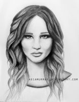 Jennifer Lawrence by AsiaMurray