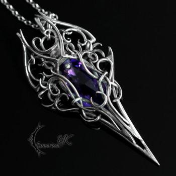THARGHTIS - silver and amethyst by LUNARIEEN
