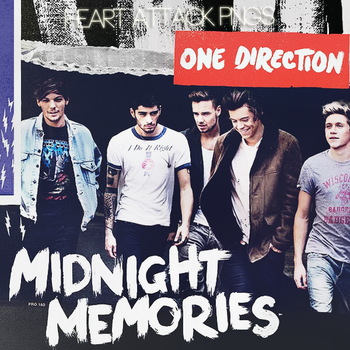 CD|Midnight Memories|One Direction. by Heart-Attack-Png