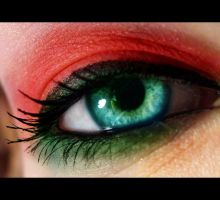Christmas Eye by MeganLeeRetouching