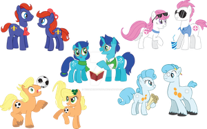 Clue and friends meet Clu and friends by TCGamerboy2002