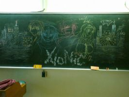 2012 - Blackboard 2 (The City) by Donotregret