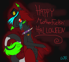 Happy HALLOWEEN by BloodyMisery15