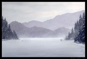 White Lake by Raphael-Lacoste