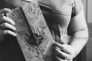 Marauders Map by bloodonthemoon5