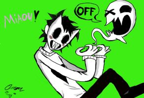 Zacharie rockin! by AwesomeXMaster