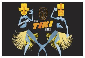 The Tiki Girls by Ape74