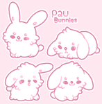 *80 points* P2U Bunny Base by moonbeani