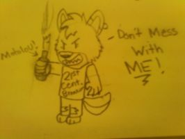 DON'T MESS WITH ME by TheCamoWulf