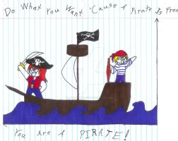 You Are A Pirate by Dragongirl19282