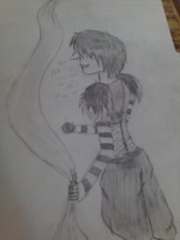 Laughing Jack sketch by nicconvict