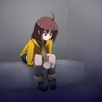 Linne in the Dungeon by D-Mizton