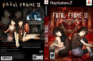 Fatal Frame II Custom Cover by StarfireEspo