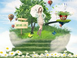 [Wallpaper] Yoona- Nature Girl by jangkarin