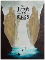 lord of the rings by ysellyra