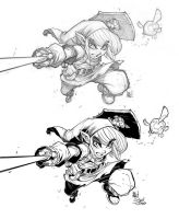 Link Inking process 3 final by D-Strada