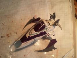 Dark Eldar vyper 2.2 by skincoffin