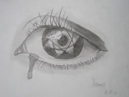 Mangakyu Sharingan Drawing by XRallemangafreak