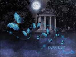 ::Wallpaper Sapphire Dream:: by selenart