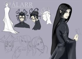 Alarr concept design sheet by vejiicakes