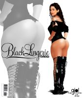 Black Lingerie fake cover 07 by giolove1
